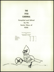 Page 5, 1958 Edition, Forreston High School - Cardinal Yearbook (Forreston, IL) online yearbook collection