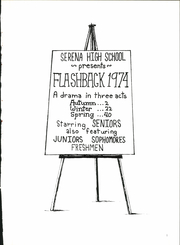 Page 5, 1974 Edition, Serena High School - Flashback Yearbook (Serena, IL) online yearbook collection