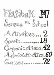 Page 5, 1977 Edition, Serena High School - Flashback Yearbook (Serena, IL) online yearbook collection