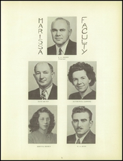 Page 9, 1949 Edition, Marissa High School - Yearbook (Marissa, IL) online yearbook collection