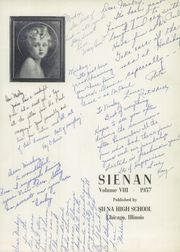 Page 5, 1957 Edition, Siena High School - Sienan Yearbook (Chicago, IL) online yearbook collection