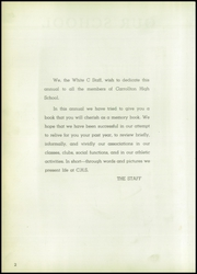 Page 6, 1949 Edition, Carrollton Community High School - White C Yearbook (Carrollton, IL) online yearbook collection