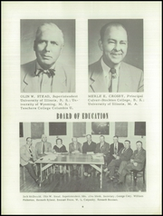 Page 10, 1955 Edition, Carrollton Community High School - White C Yearbook (Carrollton, IL) online yearbook collection