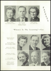 Page 16, 1950 Edition, Altamont Community High School - Altois Yearbook (Altamont, IL) online yearbook collection