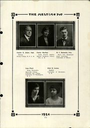 Page 13, 1924 Edition, Le Roy High School - Melting Pot Yearbook (Le Roy, IL) online yearbook collection