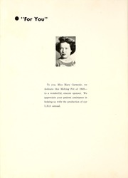 Page 8, 1949 Edition, Le Roy High School - Melting Pot Yearbook (Le Roy, IL) online yearbook collection
