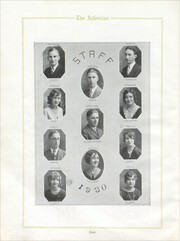 Page 12, 1930 Edition, Athens Community High School - Athenian Yearbook (Athens, IL) online yearbook collection