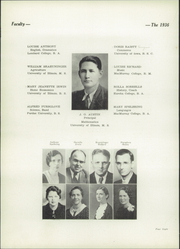 Page 12, 1936 Edition, Athens Community High School - Athenian Yearbook (Athens, IL) online yearbook collection