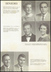 Page 11, 1959 Edition, Winchester High School - Wildcat Yearbook (Winchester, IL) online yearbook collection