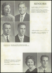 Page 14, 1959 Edition, Winchester High School - Wildcat Yearbook (Winchester, IL) online yearbook collection