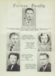 Page 15, 1952 Edition, Forman High School - Chieftain Yearbook (Manito, IL) online yearbook collection