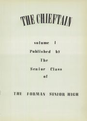 Page 7, 1952 Edition, Forman High School - Chieftain Yearbook (Manito, IL) online yearbook collection