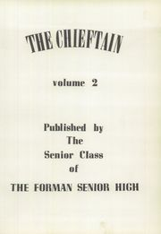 Page 5, 1953 Edition, Forman High School - Chieftain Yearbook (Manito, IL) online yearbook collection