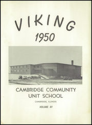 Page 5, 1950 Edition, Cambridge High School - Viking Yearbook (Cambridge, IL) online yearbook collection