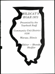 Page 5, 1973 Edition, Warsaw High School - Wildcats Roar Yearbook (Warsaw, IL) online yearbook collection