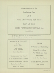 Page 69, 1945 Edition, Norris City Omaha Enfield High School - Cardinal Yearbook (Norris City, IL) online yearbook collection