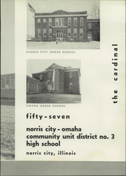 Page 7, 1957 Edition, Norris City Omaha Enfield High School - Cardinal Yearbook (Norris City, IL) online yearbook collection