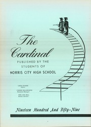 Page 6, 1959 Edition, Norris City Omaha Enfield High School - Cardinal Yearbook (Norris City, IL) online yearbook collection
