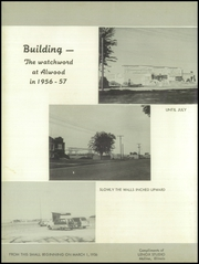 Page 6, 1957 Edition, Alwood High School - Somethin Country Yearbook (Woodhull, IL) online yearbook collection