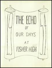 Page 7, 1954 Edition, Fisher High School - Echo Yearbook (Fisher, IL) online yearbook collection