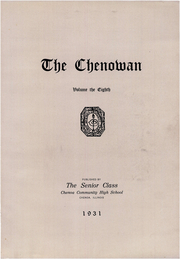 Page 7, 1931 Edition, Chenoa High School - Chenowan Yearbook (Chenoa, IL) online yearbook collection