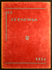 1934 Edition, Chenoa High School - Chenowan Yearbook (Chenoa, IL)