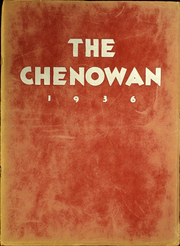 1936 Edition, Chenoa High School - Chenowan Yearbook (Chenoa, IL)