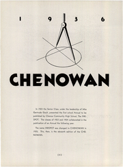 Page 7, 1936 Edition, Chenoa High School - Chenowan Yearbook (Chenoa, IL) online yearbook collection
