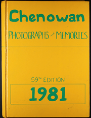 1981 Edition, Chenoa High School - Chenowan Yearbook (Chenoa, IL)