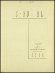 Page 7, 1948 Edition, North Clay High School - Cardinal Yearbook (Louisville, IL) online yearbook collection
