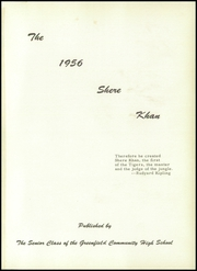 Page 5, 1956 Edition, Greenfield Community High School - Shere Khan Yearbook (Greenfield, IL) online yearbook collection