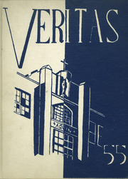 1955 Edition, Aquin High School - Veritas Yearbook (Freeport, IL)