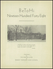Page 7, 1948 Edition, Bement High School - BIM Yearbook (Bement, IL) online yearbook collection