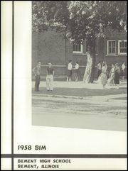 Page 6, 1958 Edition, Bement High School - BIM Yearbook (Bement, IL) online yearbook collection