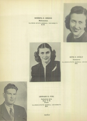 Page 16, 1950 Edition, Fairbury Cropsey High School - Crier Yearbook (Fairbury, IL) online yearbook collection