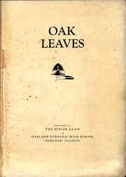 Page 5, 1931 Edition, Oakland Township High School - Oak Leaves Yearbook (Oakland, IL) online yearbook collection