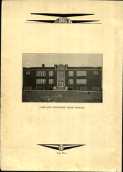 Page 8, 1931 Edition, Oakland Township High School - Oak Leaves Yearbook (Oakland, IL) online yearbook collection