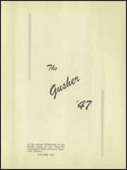 Page 7, 1947 Edition, Grayville High School - Gusher Yearbook (Grayville, IL) online yearbook collection