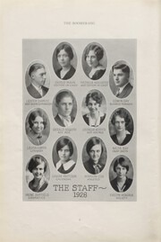 Page 12, 1928 Edition, Avon High School - Boomerang Yearbook (Avon, IL) online yearbook collection