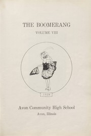 Page 7, 1928 Edition, Avon High School - Boomerang Yearbook (Avon, IL) online yearbook collection