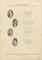 Page 16, 1930 Edition, Avon High School - Boomerang Yearbook (Avon, IL) online yearbook collection