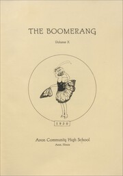 Page 7, 1930 Edition, Avon High School - Boomerang Yearbook (Avon, IL) online yearbook collection