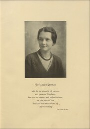 Page 9, 1930 Edition, Avon High School - Boomerang Yearbook (Avon, IL) online yearbook collection