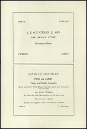 Page 12, 1923 Edition, Chrisman High School - Ne Iocus Yearbook (Chrisman, IL) online yearbook collection