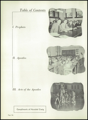 Page 10, 1954 Edition, Chrisman High School - Ne Iocus Yearbook (Chrisman, IL) online yearbook collection