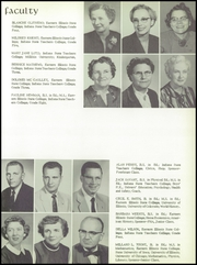 Page 17, 1957 Edition, Chrisman High School - Ne Iocus Yearbook (Chrisman, IL) online yearbook collection