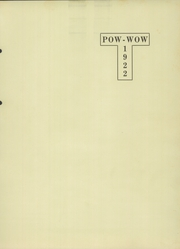Page 5, 1922 Edition, Windsor High School - Pow Wow Yearbook (Windsor, IL) online yearbook collection