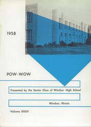 Page 5, 1958 Edition, Windsor High School - Pow Wow Yearbook (Windsor, IL) online yearbook collection