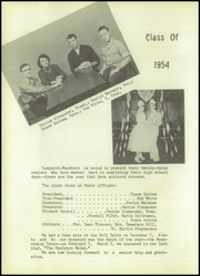 Page 14, 1954 Edition, Lowpoint Washburn High School - Quill Yearbook (Washburn, IL) online yearbook collection
