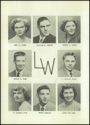 Page 16, 1954 Edition, Lowpoint Washburn High School - Quill Yearbook (Washburn, IL) online yearbook collection